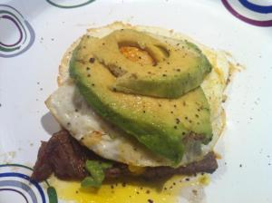 Steak/Egg/Avocado