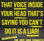 voice in your head a liar